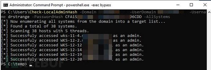 Check-LocalAdminHash:一款基于PowerShell的本地管理员识别工具