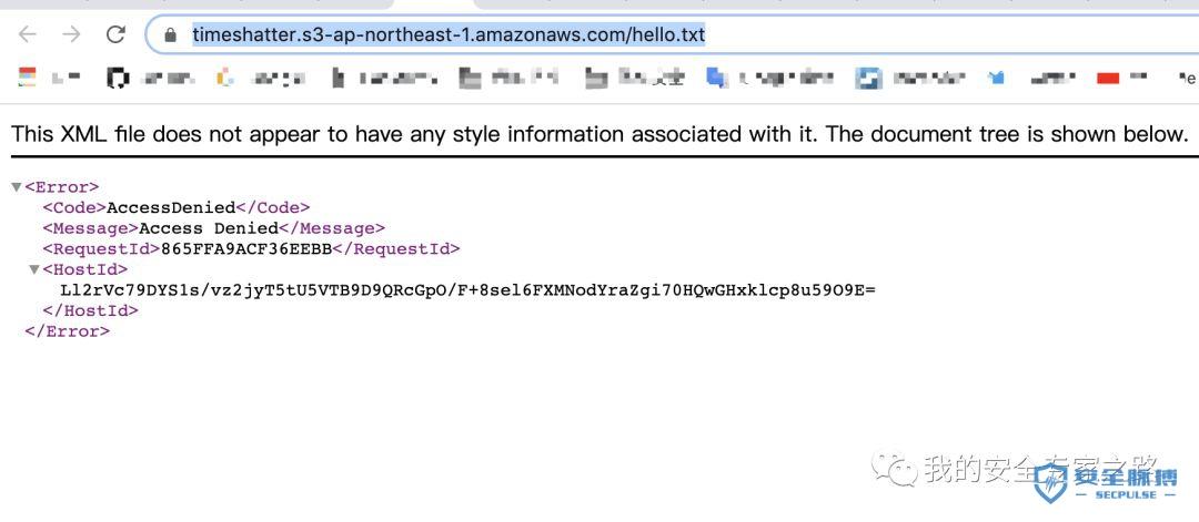 【AWS 安全系列】Amazon S3 配置错误(上)