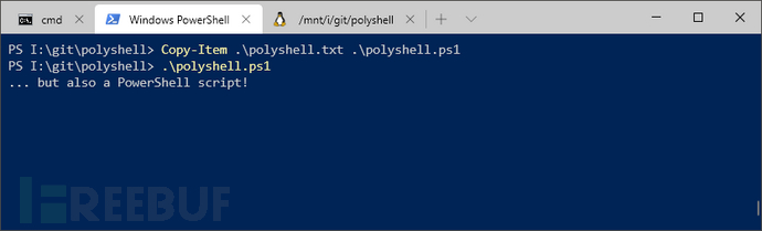PolyShell:一款适用于Bash、Batch、PowerShell的polyglot